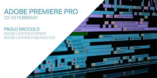 Montaggio video con Adobe Premiere Pro