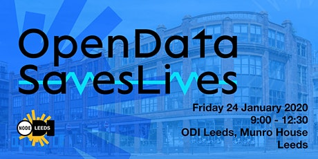 #OpenDataSavesLives Launch - LEEDS tickets
