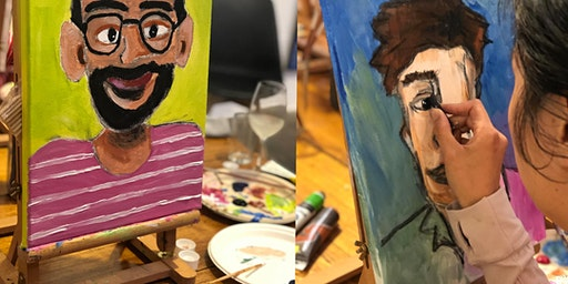 PAINT & SIP - VALENTINES COUPLES NIGHT - PAINT YOUR PARTNER with Sonja Maclean