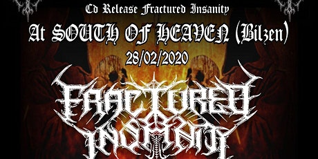Fractured Insanity (cd release) - Tensor - Revealed tickets