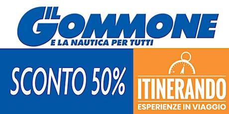 Vieni alla fiera «Itinerando» con la rivista «Il Gommone» biglietti