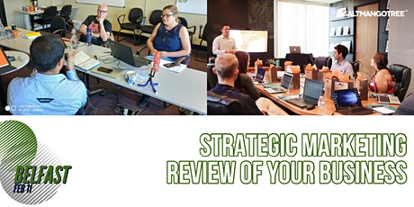 Strategy Clinic Belfast Edition:  Marketing  review of your Business tickets