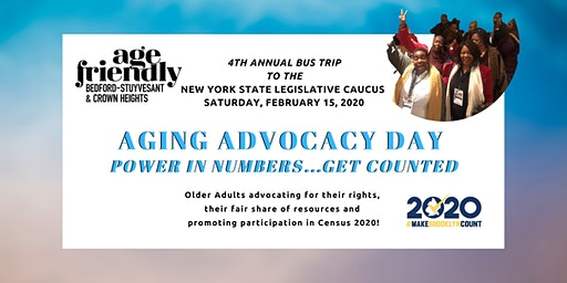 Aging Advocacy Day  in Albany - Bus Trip to the NYS Legislative Caucus
