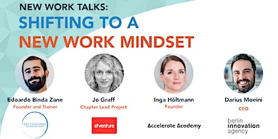 New Work Talks: Shifting to a New Work Mindset