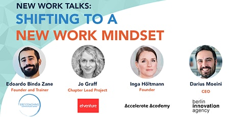 New Work Talks: Shifting to a New Work Mindset tickets