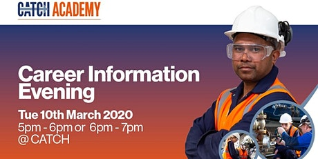 CATCH Information Evening - March tickets