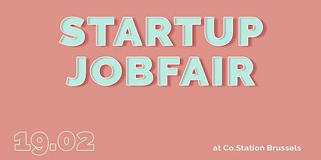 Startup Jobfair // February 2020 billets