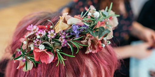 Flower Crowns with Holly Florist