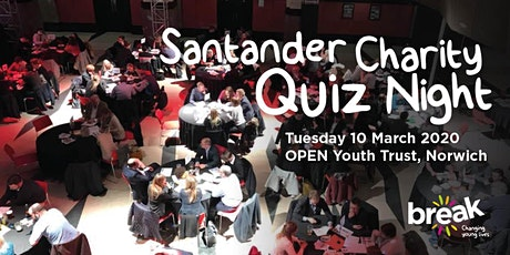 Santander Charity Quiz Night 2020 tickets