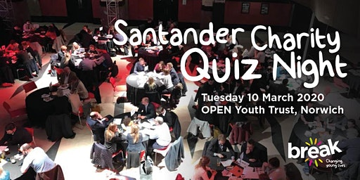 Santander Charity Quiz Night 2020