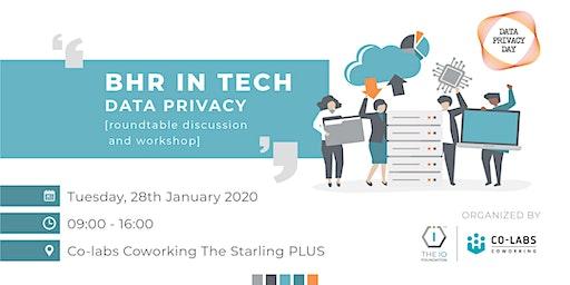 TechUp::Reach BHR in Tech: Data Privacy