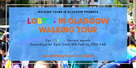 LGBTQ+ In Glasgow: Walking Tour tickets