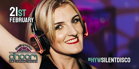 HYW Silent Disco party night at DHOOM (18+) tickets