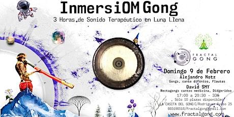 Inmersiom Gong - Sesión de 3 horas en luna llena tickets