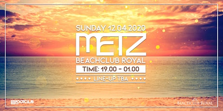 METZ on the Beach - Easter Sunday  tickets