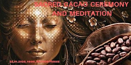 Sacred Cacao Ceremony & Meditation tickets
