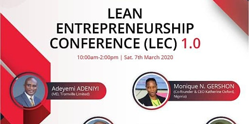 Lean Entrepreneurship Conference (LEC) 1.0