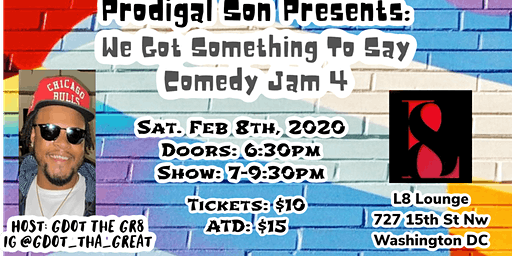 WE GOT SOMETHING TO SAY COMEDY JAM VOL. 4