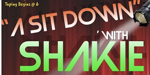 A Sit Down with MC Shakie Live