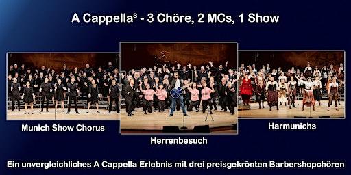 A Cappella³ - 3 Chöre, 2 MCs, 1 Show