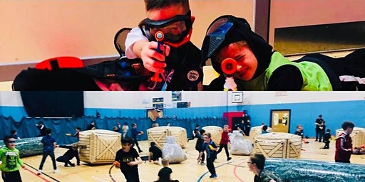 INVERURIE FORTNITE THEMED NERF WARS SUNDAY 22ND OF MARCH
