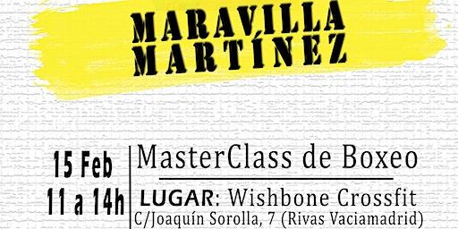 MasterClass de Boxeo con Maravilla Martínez