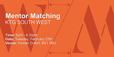 Kerning The Gap: South West mentor matching tickets