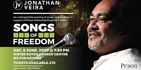 Songs of Freedom with Jonathan Veira, Milton Keynes tickets