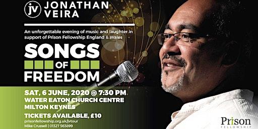 Songs of Freedom with Jonathan Veira, Milton Keynes