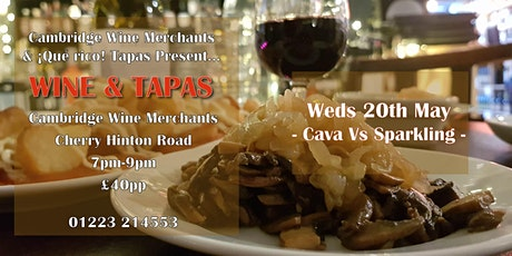 Wine and Tapas Tasting: Cava Vs Sparkling (CH) tickets