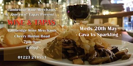 Wine and Tapas Tasting: Cava Vs Sparkling (CH) tickets