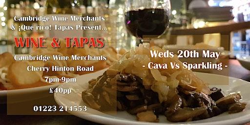 Wine and Tapas Tasting: Cava Vs Sparkling (CH)