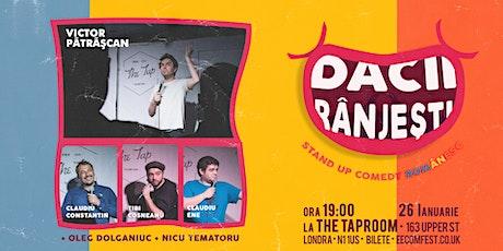 Dacii Rânjești  - Stand up Comedy Românesc - 26 Ianuarie tickets