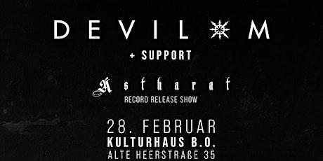 Devil-M // CD Release Tickets