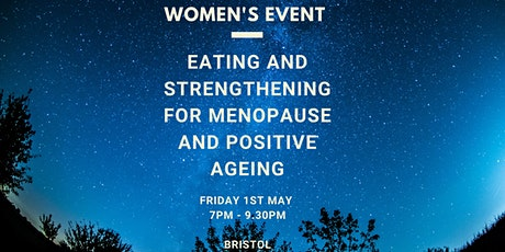 Women's Event - Menopause and Positive Ageing tickets
