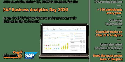 SAP Business Analytics Day 2020