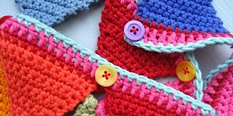 Learn To Crochet - Beginners - Crochet Bunting tickets
