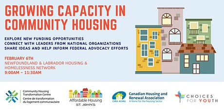Growing Capacity in Community Housing tickets