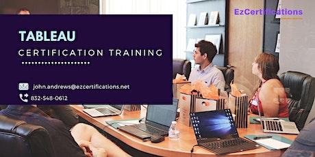 Tableau Certification Training in Niagara, NY tickets