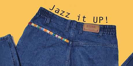 Jazz it UP - Up-cycling embroidery workshop tickets