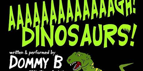 Aaaaargh! Dinosaurs! Poetry workshop tickets