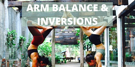 Yoga Workshop - Inversion and Arm Balances tickets