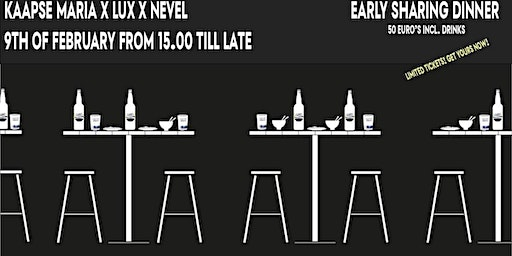 Sit at the Brewers Table x Nevel x Lux