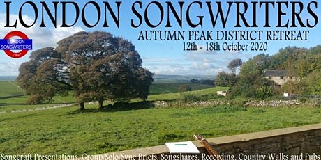 2020 Autumn Peak District Songwriting Retreat tickets