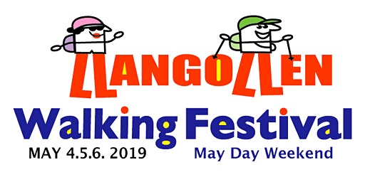 Llangollen Walking Festival FREE Nordic Walking MAY 9th, 2020