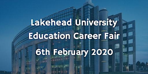 Lakehead University Education Career Fair