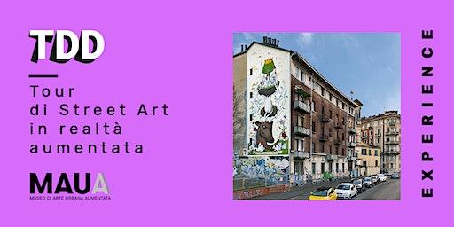 Tour di street art in realtà aumentata