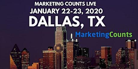 Marketing Counts Live - Digital Marketing Seminar tickets