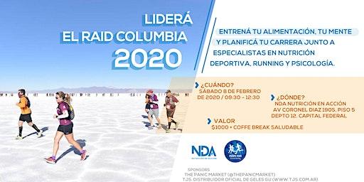 Liderá el Raid Columbia 2020