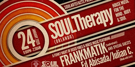 SOULArtefacts presents SOULTherapy Orlando tickets